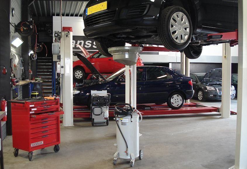 Hanssen Auto's werkplaats